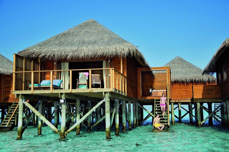 Meeru Island Resort Jacuzzi Water Villa All Inclusive
