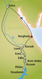 Rundreise Höhepunkte Ägyptens