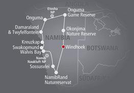 Rundreise Glanzlichter Namibias - Geführte Reise