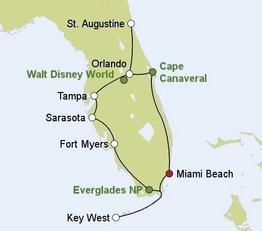 Rundreise Florida Sunshine State