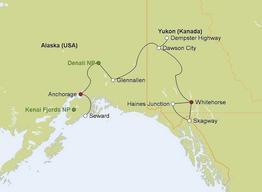 Rundreise Alaska & Yukon Explorer