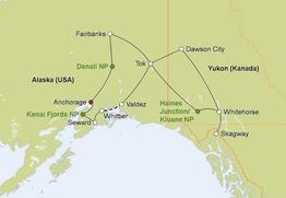 Rundreise Highlights Alaska & Yukon