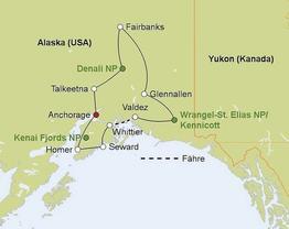 Rundreise Alaska Intensiv