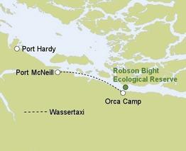 Rundreise Orca Camp