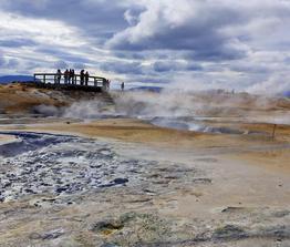 Rundreise Aktiv Erleben Island -Vulkane,Krater,heiße Quellen