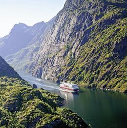 Rundreise Zug- u. Schiffsreise Mit Zug u. Schiff zum Nordkap