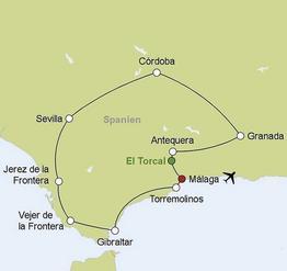 Rundreise Busrundreise Andalusien Entdecken