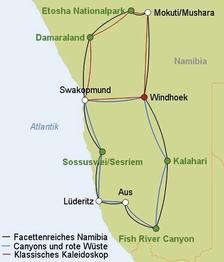 Rundreise Facettenreiches Namibia Verlängerungsprogramm