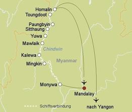 Rundreise Flusskreuzfahrt: RV Pandaw ab Yangon