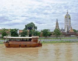 Rundreise Mit Dschunke und Drahtesel Ayutthaya und Umgebung