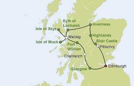 Rundreise Bahnerlebnisreise Schottland