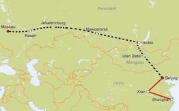 Rundreise Transsib Moskau-Mongolei-Beijing EZ