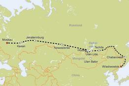 Rundreise Zarengold von Moskau nach Wladiwostok