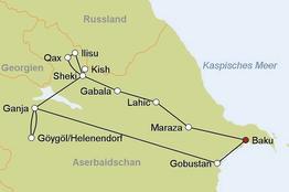 Rundreise Facettenreiches Aserbaidschan