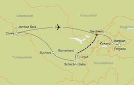 Rundreise Glanzlichter Usbekistans Privatreise
