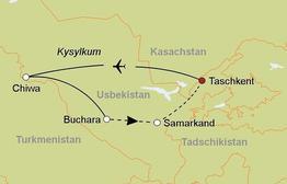 Rundreise Usbekistan kompakt