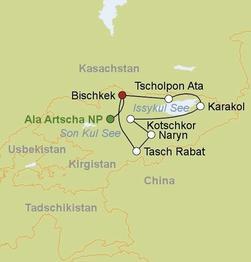 Rundreise Die Farben Kirgistans