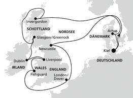 AidaVita Package Grossbritannien&Irland