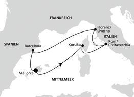 AidaBella Perlen am Mittelmeer