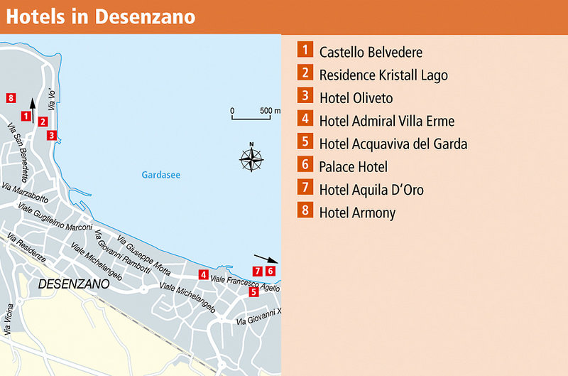 Hotels In Sirmione Direkt Am See