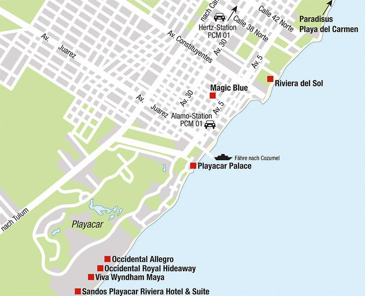 Viva Wyndham Maya Playa Del Carmen Buchen Bei Dertour