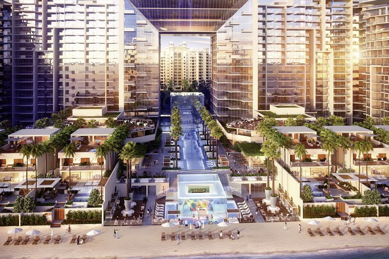 Five palm jumeirah dubai jumeirah beach buchen bei dertour for 5 hotels in dubai