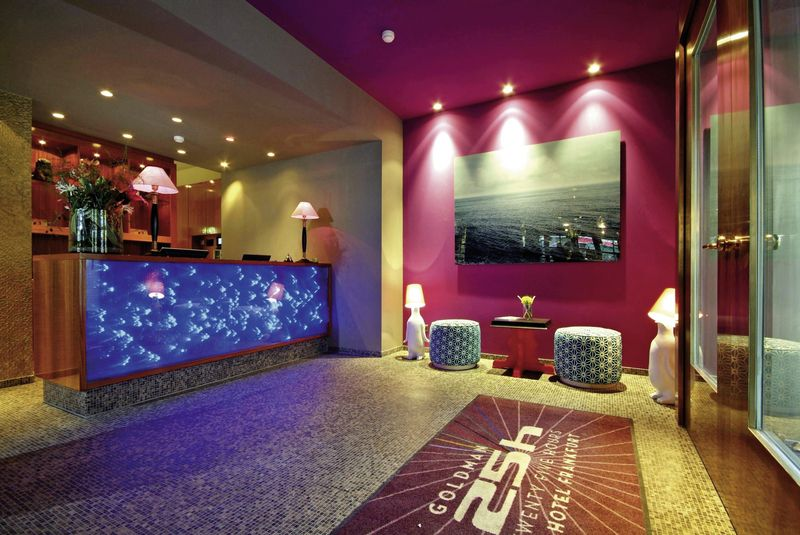 25hours hotel the goldman frankfurt frankfurt buchen bei dertour. Black Bedroom Furniture Sets. Home Design Ideas