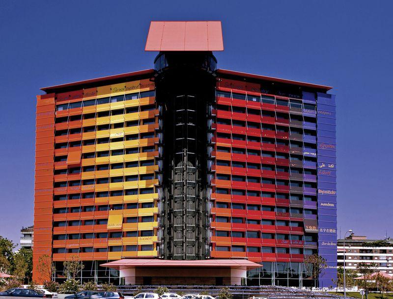 Silken hotel puerta america madrid buchen bei dertour - Silken puerta america madrid ...