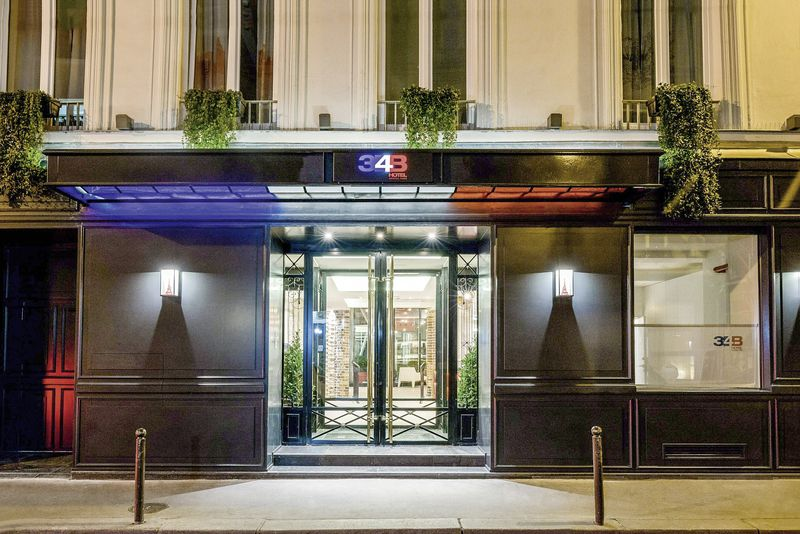 hotel 34b paris buchen bei dertour. Black Bedroom Furniture Sets. Home Design Ideas