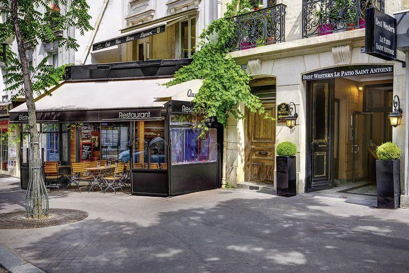 Hotel Best Western Patio St Antoine Paris