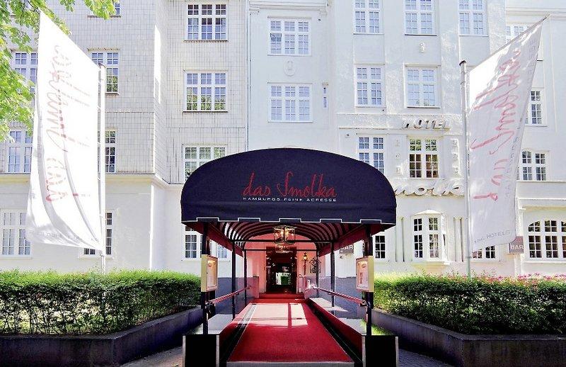 Hotel Smolka Hamburg Parkplatz