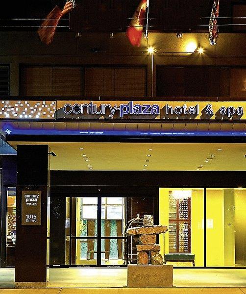 Century plaza hotel spa vancouver buchen bei dertour for A salon century plaza