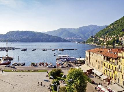 Hotel Barchetta Excelsior Como Italien