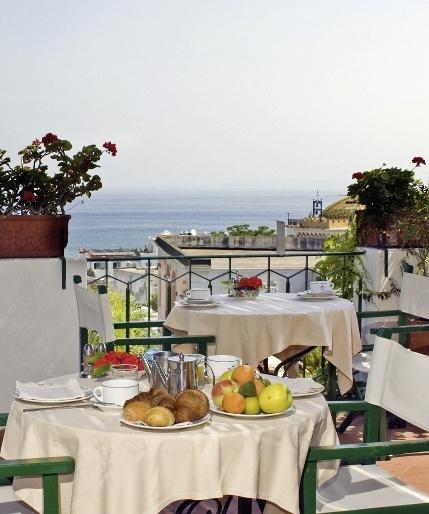 Hotel La Villa Rosa Ischia Italien