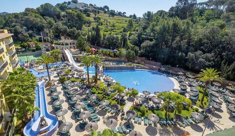 hotel rosamar garden resort lloret de mar buchen bei With katzennetz balkon mit rosamar garden resort lloret de mar spanien