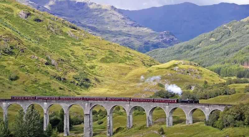 Gla >> Rundreise Bahnerlebnisreise Schottland - Edinburgh - buchen bei DERTOUR