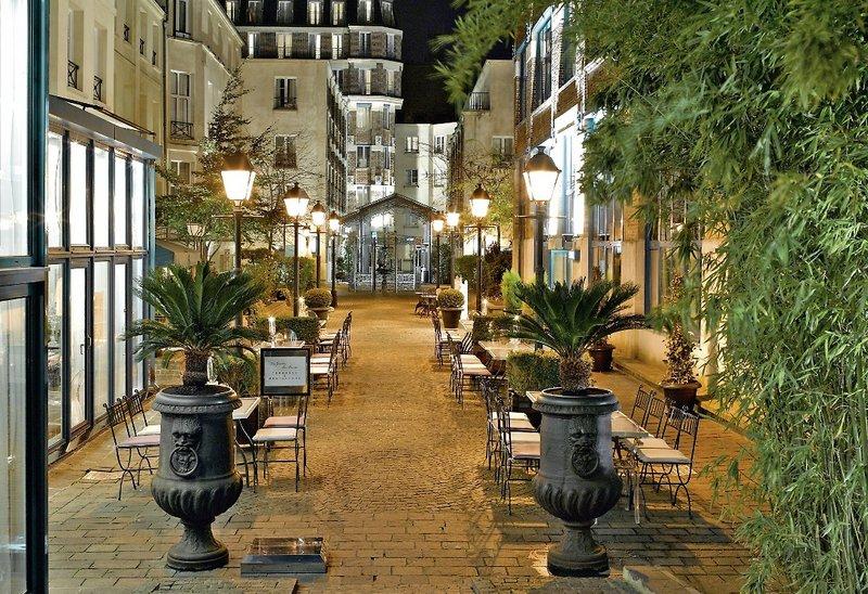 Les jardins du marais paris buchen bei dertour - Jardins du marais restaurant ...